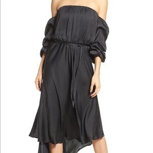 Bardot cocktail dress.